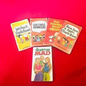 Collectible Charlie Brown Paperbacks